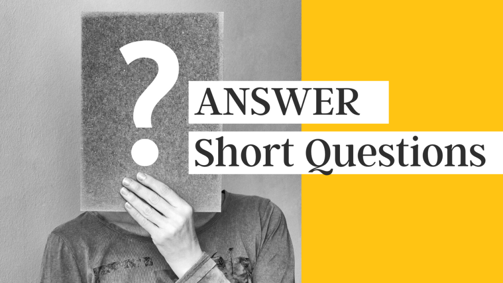 pte answer short questions speaking