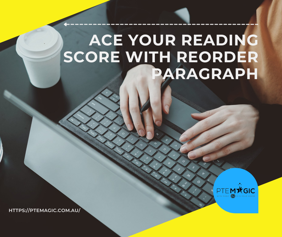 STRATEGY TO GET THE HIGHEST SCORE IN REORDER PARAGRAPH
